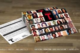 Cartolina corsi di recitazione – Teatro Litta