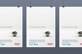 Pagina pubblicitaria Pirelli Eco Technology