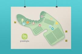 Giralafoglia fattoria didattica – Mappa del percorso