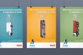 Pagina pubblicitaria Pirelli ambiente
