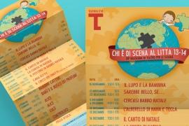 Pieghevole Teatro per le Scuole 13/14 – Teatro Litta