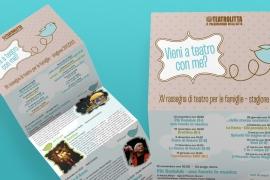 Pieghevole Teatro per le Scuole 11/12 – Teatro Litta